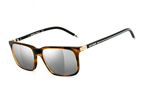 HARLEY-DAVIDSON: Sonnenbrille silber verspiegelt HD1014-54052 UV400 Schutzfilter