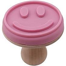 Pinhui Smiley - Molde para tartas con forma de emoji sonriente, molde para galletas,