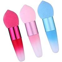 GOOTUOUOU Make-up-Schwamm 1 Stück Pilzkopf Make-Up Schwamm Puff Kosmetische Puderquaste Mit Griff preisvergleich bei billige-tabletten.eu