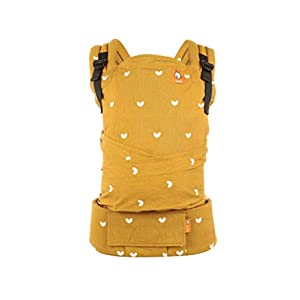 Tula Half Buckle TBCA5G1 Play - Asian Inspired Hybrid Baby Carrier with Padded Shoulder Straps with Crossover Option for Babies 3 2 to 20 4 kg   2