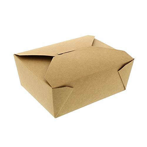 003f8e79c Royal #8 Kraft Folded Takeout Box, 15 cm x 12 cm x 6 cm
