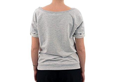 Converse Old Shoes T-shirt Neuf VÊtements Femme Gris