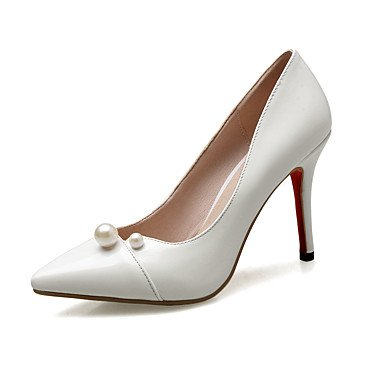 Zormey Frauen Heels Fr¨¹hling Sommer Herbst Club Schuhe Pu Hochzeit B¨¹ro & Amp Karriere Kleid Stiletto Heel Imitation Pearl US6 / EU36 / UK4 / CN36