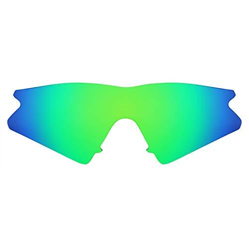Revant Schutzglas für Oakley M Frame Sweep Polarisierung Elite Rogue Grün MirrorShield®