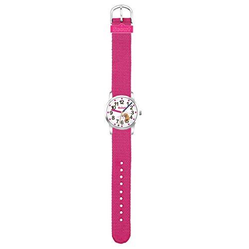 Scout 280310002 Maedchen-Armbanduhr Lernuhr Pferd Country Pink