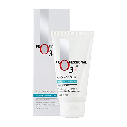 O3+ Volcano Scrub for Exfoliation, Deep Cleansing, Blackhead Removal and Pore Minimization (50g) -