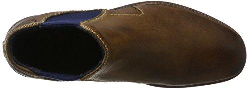 bugatti Herren 321344303200 Chelsea Boots Braun (Cognac)