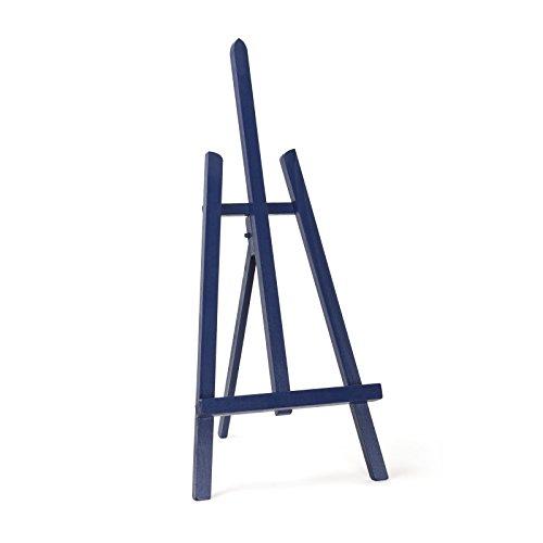azul-marino-color-madera-de-haya-600-mm-24-2-ft-artist-mesa-pantalla-art-caballete-craft-boda-de-mad