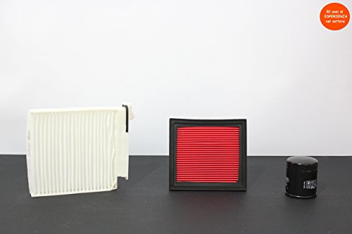 Preisvergleich Produktbild Kit 3Filter (Luft–Öl–Cockpit)