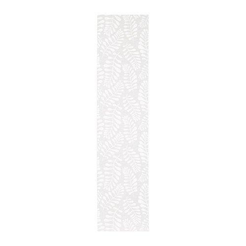 IKEA yrla 61x 299,7cm Schiebevorhang weiß weiß 203.787.70