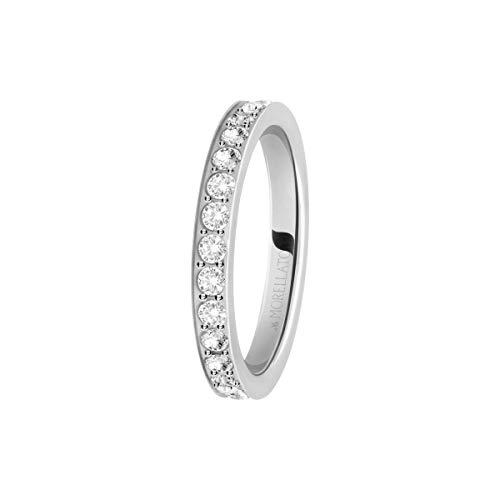 Morellato Anello da donna Collezione Love Rings acciaio e cristalli SNA41018