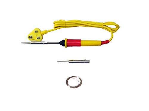 Themisto Electric Soldering Iron/ 25 W soldering Iron (5 g Solder, Red)