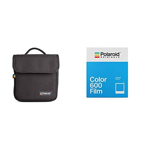 Polaroid Originals 4670 Film Couleur pour Appareil Polaroid 600 & Originals 4756 Sac pour Appareil Photo Instantané Polaroid Type Boite, Noir