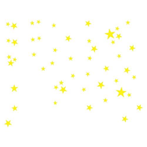 CAOQAO Adhesivo De Pared Gran Estrella 38 G Vinilo Pegatinas Decorativas Adhesiva...