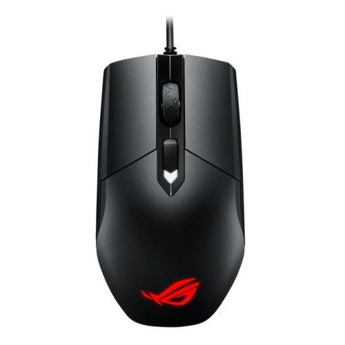 ASUS ROG Strix Impact - Ratón para gaming con cable (USB 2.0, sensor óptico de 7200 DPI), color Negro