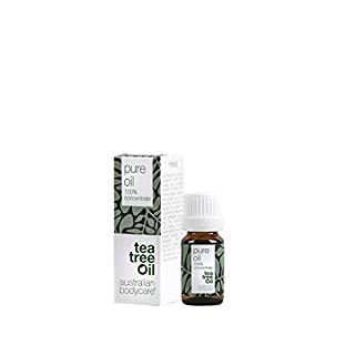 Australian Bodycare Tea Tree Oil (10 ml) - 100% reines Teebaumöl von Pharmaqualität, original Teebaumöl aus Australien. Vegan - gegen unreine Haut, Hautentzündungen, Anti Pickel und gegen Nagelpilz und Fußpilz - Bekannt aus der Apotheke