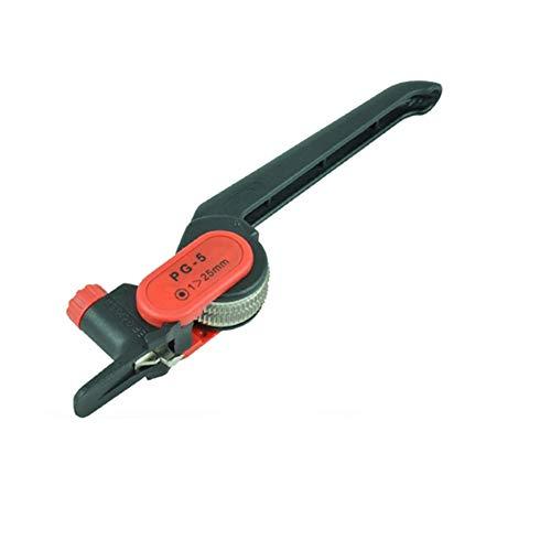 Pince à Sertir Pince à dénuder, coupe-câble, couteau à dégainer pour diamètre de câble circulaire 25 mm,Presse Pinces Outils, Pinces Outils