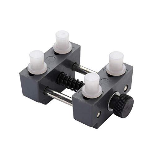 VROSE FLOSI Watch zurück Fall Remover Tool Kit Uhr einstellbar Öffner Presse Näher Remover Reparatur Werkzeug (schwarz) (Watch Tools Zurück Fall öffner)
