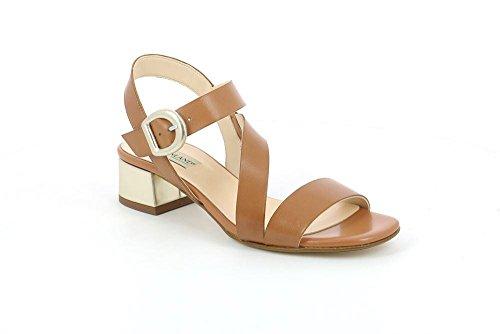 GRUNLAND SA1675 Mane Sandalo Donna P. Cuoio
