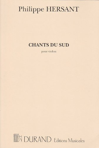 Chants du Sud Violon