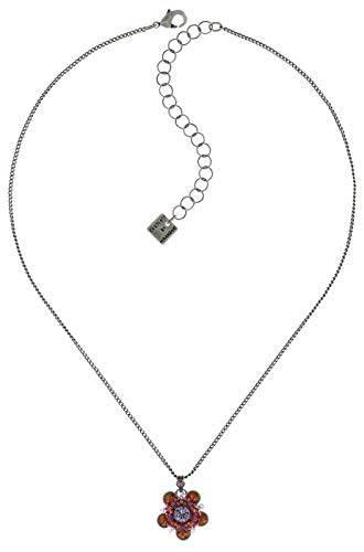 Konplott Halskette Apple Blossom Silver Brown/lila