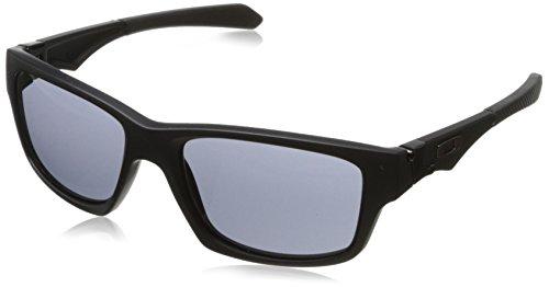 Oakley Herren Sonnenbrille Jupiter Squared Matte Black/Grey (S3), 56