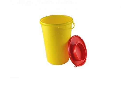 Kanülenabwurfbehälter 2,0 L Abwurfbehälter Kanülenbox Nadelbox Kanülensammler