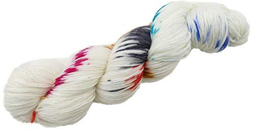 Manos del Uruguay Alegria Merinowolle mit Farbverlauf, Sockenwolle handgefärbt, Fb. A9009 Columbina, 100g ca. 405m -