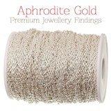 Aphrodite oro marca -10Metri di 2mm Argento Catena–Ideale per Gioielli - Aphrodite Gold - amazon.it