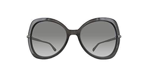 Jimmy Choo CRUZ/G/S-Y6U-58 Damen Sonnenbrille, Schwarz, 58