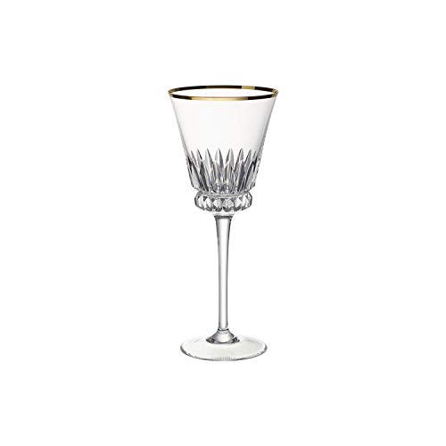 Villeroy & Boch Grand Royal Gold Verre à vin blanc, 290 ml, Cristal, Transparent
