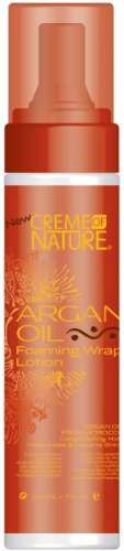 Creme of Nature Huile d'Argan mousse Wrap Lotion 205 ml (pack de 6)