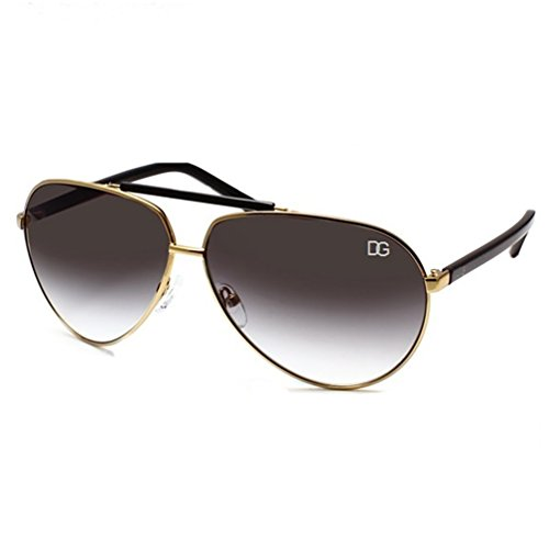 DG Eyewear Damen Sonnenbrille gold gold