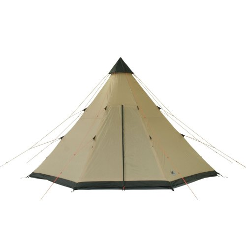 31 qmDWErjL. SS500  - 10T Outdoor Equipment Waterproof Shoshone Unisex Outdoor Teepee Tent available in Beige  - 8 Persons