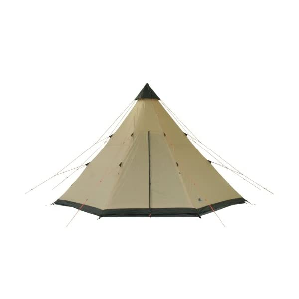10T Outdoor Equipment Waterproof Shoshone Unisex Outdoor Teepee Tent available in Beige  - 8 Persons 4