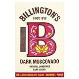 Billingtons Dark Muscovado Natural Unrefined Cane Sugar