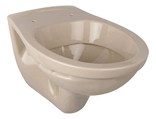 Calmwaters - Hänge-WC in Beige-Bahamabeige als Tiefspüler mit waagerechtem Abgang, Tiefspül-WC - 08AB2307