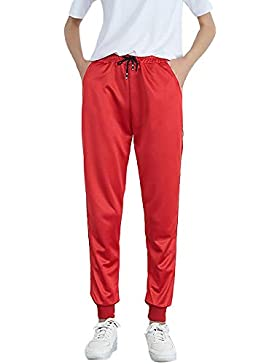 Pantalones Deportivos Running para Mujer Otoño Invierno 2018 Moda PAOLIAN Casual Pantalones Vestir Cintura Alta...