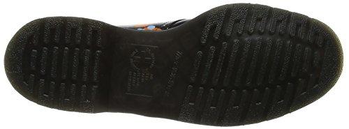 Dr. Martens 1461, Scarpe Stringate Unisex - Adulto Nero (salpicadura Negra Suave)