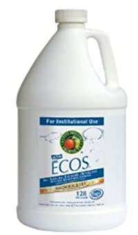 Earth Friendly Products Pl9750/04 Ecos Magnolia &Amp; Lily Laundry Detergent - 2X 1 Gallon - Case Of 4
