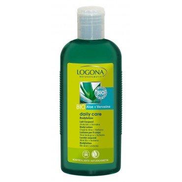 LOGONA - lait corporel a Aloes & verveine 200 ml - Le confort pour les mains seches et delicates. - Couleur Vert