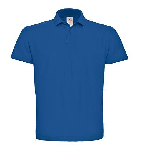 c52edbae0053 Prezzo Polo da lavoro uomo maglietta maniche corte t-shirt cotone piquet  b&c id 00
