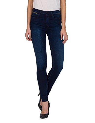 Replay Damen ZACKIE Skinny Jeans, Blau (Dunkelblau 9), W27/L32