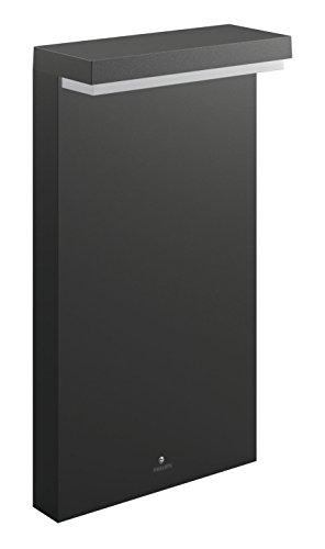 Philips bustan palo da esterno, altezza da 40 cm, 2700 k, grigio scuro