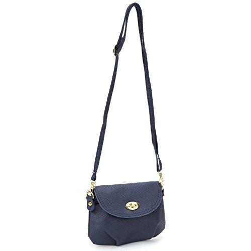 Signore mini bag piccola borsa del messaggero della spalla crossbody, 6 colori Beige