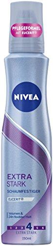 Nivea Extra Stark Schaumfestiger, 3er Pack (3 x 150 ml) (Haar-schaum)