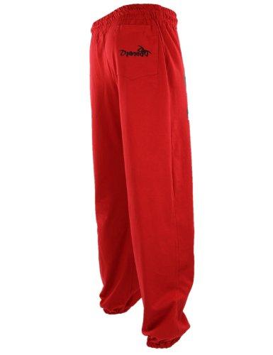 Hosen in 35 farben. rot Jogginghose Herren und Damen. Sporthose Djaneo Rio  Baumwolle. 0a76823a5b
