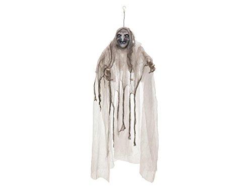 spenst Hexe BELLATRIX mit Sound- und Bewegungsfunktion, LED, 170 cm - Hexenfigur / Dekofigur - showking (Animierte Halloween-hexe)