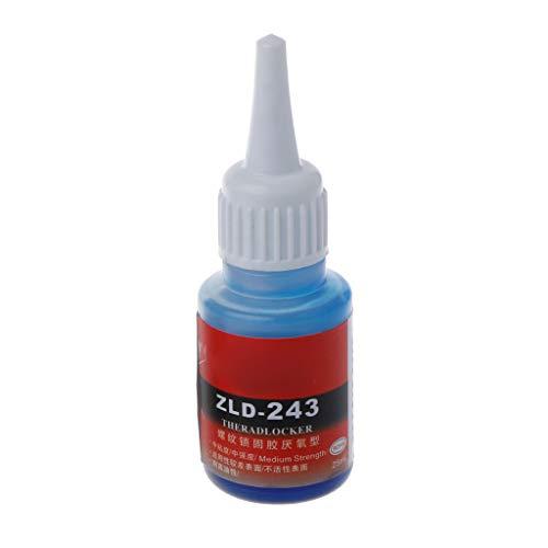 BIlinli Anaerobic 243 222 340 Schraube Flüssigkleber Fixiert Verhindern Sie, DASS die Schraube rostfrei ist. Feste Schraube Klebstoff Fixiermittel Dichtung Lockerungsmittel Fixierklebstoff -