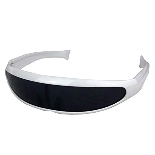 Lomsarsh Männer Sport Eye Sonnenbrille Fischschwanz Sandsturm Fahrrad Mountainbike Reiten Brille Outdoor Reiten Brille Sport Sonnenbrille Erwachsene - Multicolor